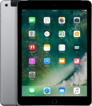 Apple iPad (2017) - 9.7 inch - WiFi + Cellular (4G) - 128GB - Spacegrijs