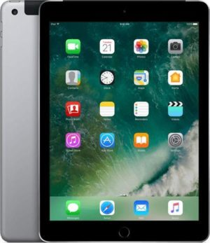Apple iPad (2017) - 9.7 inch - WiFi + Cellular (4G) - 32GB - Spacegrijs
