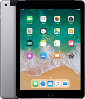 Apple iPad (2018) - 9.7 inch - WiFi + Cellular (4G) - 128GB - Spacegrijs
