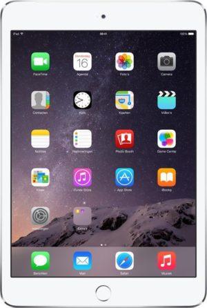 Apple iPad Mini 3 - 64GB - Wi-Fi + Cellular - Zilver