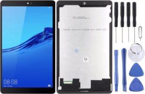 Let op type!! LCD-scherm en digitizer volledige montage voor Huawei MediaPad M5 Lite 8 JDN2-W09 (zwart)