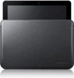 Samsung Lederen Pouch voor Samsung Galaxy Tab 2 10.1 / Galaxy Note 10.1 - Zwart