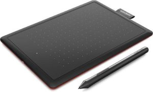 Wacom One by Medium grafische tablet 2540 lpi 216 x 135 mm USB Zwart