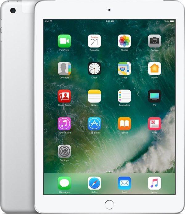 Apple iPad (2017) - 9.7 inch - WiFi + Cellular (4G) - 128GB - Zilver