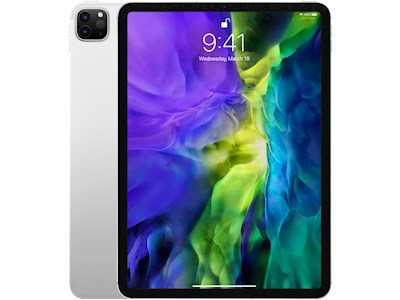 Apple iPad Pro 11 inch (2020) - 128 GB - Wi-Fi + Cellular - Zilver