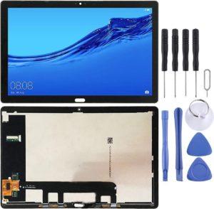 LCD-scherm en Digitizer volledige montage voor Huawei MediaPad M5 Lite 10 BAH2-W19 BAH2-L09 (zwart)