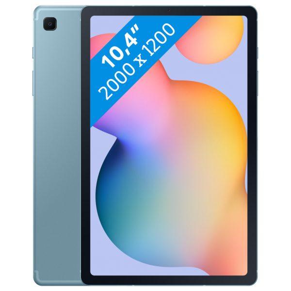 Samsung Galaxy Tab S6 Lite 128 GB Blauw Wifi + 4G (NL)