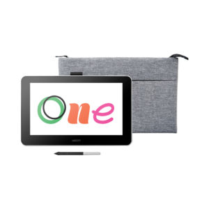 Wacom One 13 + Wacom Intuos soft case medium