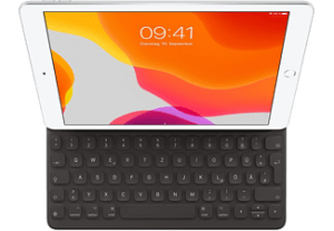 APPLE Smart Keyboard Zwart voor iPad (7e gen.) en iPad Air (3e gen.)