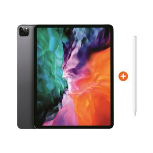 Apple iPad Pro (2020) 12.9 inch 256 GB Wifi Space Gray + Pencil