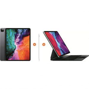 Apple iPad Pro (2020) 12,9 inch 256 GB Wifi Space Gray + Magic Keyboard + Pencil