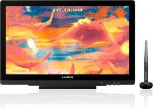 HUION Kamvas 20 grafische tablet 5080 lpi 434,88 x 238,68 mm USB Zwart