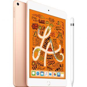 Apple iPad Mini 5 64 GB Wifi Goud + Apple Pencil
