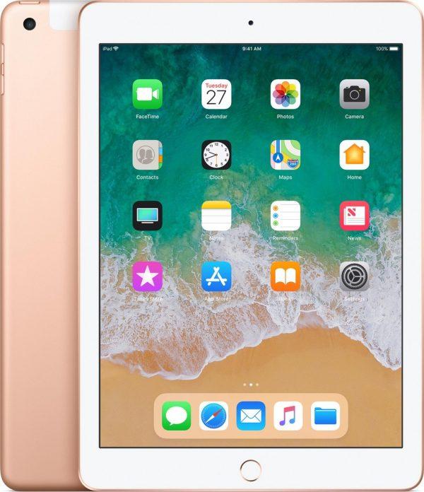 Apple iPad (2018) - 9.7 inch - WiFi + 4G - 32GB - Goud