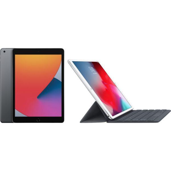 Apple iPad (2020) 128 GB Wifi Space Gray + Smart Keyboard