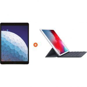 Apple iPad Air (2019) 256 GB Wifi Space Gray + Smart Keyboard