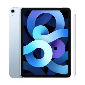 Apple iPad Air (2020) 10.9 inch 64 GB Wifi Hemelsblauw + Apple Pencil 2