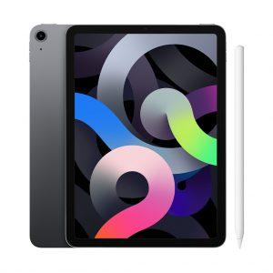 Apple iPad Air (2020) 10.9 inch 64 GB Wifi Space Gray + Apple Pencil 2