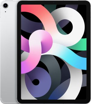 Apple iPad Air (2020) - 10.9 inch - WiFi + 4G - 256GB - Zilver