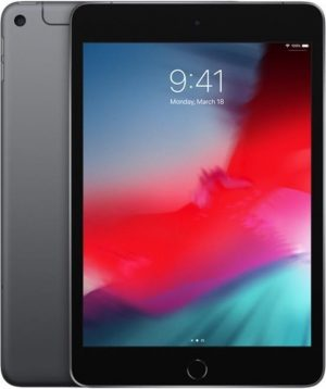 Apple iPad Mini (2019) - 7.9 inch - WiFi + 4G - 256GB - Spacegrijs