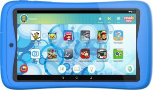 Kurio Tab Connect Studio 100 kindertablet - 16GB - Blauw