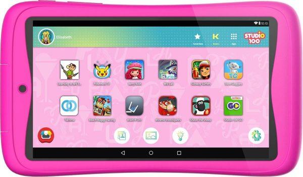 Kurio Tab Connect Studio 100 kindertablet - 16GB - Roze