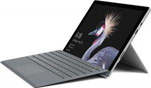 Microsoft Surface Pro 31,2 cm (12.3'') Intel® Core™ M 4 GB 128 GB Wi-Fi 5 (802.11ac) Zwart, Zilver Windows 10 Pro