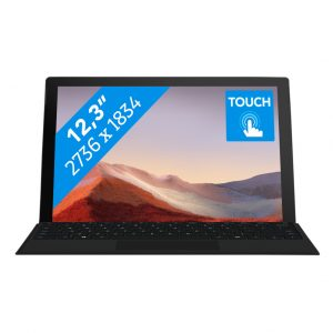 Microsoft Surface Pro 7 - i7 - 16 GB - 256 GB Black
