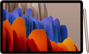 Samsung Galaxy Tab S7+ - 128GB - Brons