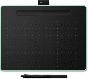 Wacom Intuos M Bluetooth grafische tablet 2540 lpi 216 x 135 mm USB/Bluetooth Zwart, Groen