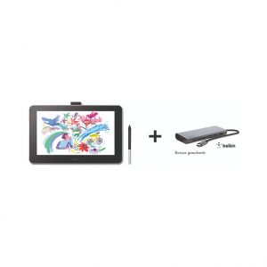 Wacom One 13 Pen Display + Belkin USB C Hub