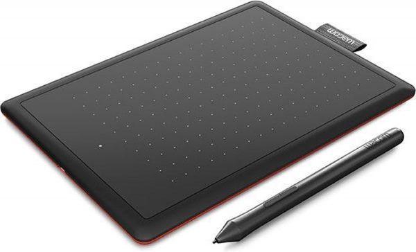 Wacom One by Medium grafische tablet 2540 lpi 216 x 135 mm USB Zwart