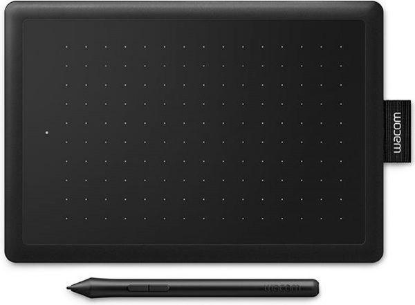 Wacom One by Small grafische tablet 2540 lpi 152 x 95 mm USB Zwart