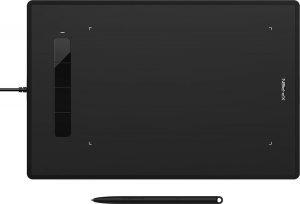 XP-Pen Star G960S Plus - Tekentablet met ergonomische pen - Grafisch Design - Android - Hoge precisie - 4 sneltoetsen - 5080 LPI - 8192 drukniveaus - USB - 9 x 6 inch - Portable - grote werkoppervlak - Boektafel - 10 x Pen Nibs - 60 graden hoek