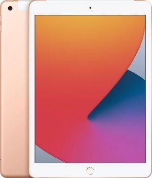 Apple iPad (2020) - 10.2 inch - WiFi + 4G - 128GB - Goud