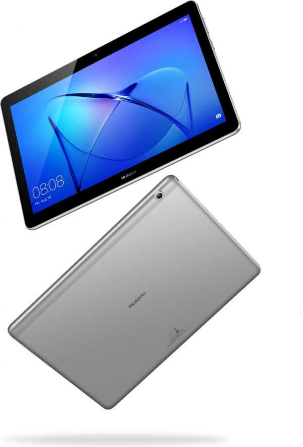 Huawei MediaPad T3 10.0 24,4 cm (9.6'') Qualcomm Snapdragon 2 GB 16 GB Wi-Fi 4 (802.11n) Grijs Android 7.0