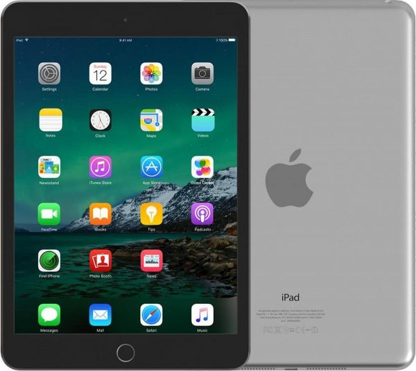 Leapp Refurbished Apple iPad mini 4 - 64GB - Wi-Fi - Space Gray - Als nieuw - 2 Jaar Garantie - Refurbished Keurmerk