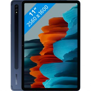 Samsung Galaxy Tab S7 128GB Wifi + 4G Blauw