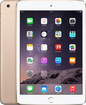 iPad Mini 3 64GB Gold Wifi + 4G - Zo goed als nieuw - 2 Jaar Garantie