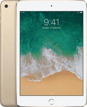 iPad Mini 4 128GB Gold Wifi + 4G - Zo goed als nieuw - 2 Jaar Garantie
