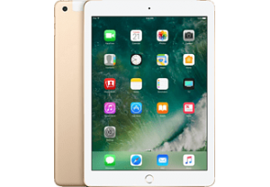 APPLE iPad 2017 WiFi + Cellular 128GB Goud
