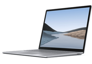 MICROSOFT Surface Laptop 3 - Platinum A9 8GB 128GB