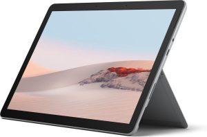 "Microsoft Surface Go 2 26,7 cm (10.5"") Intel® Core™ M 8 GB 128 GB Wi-Fi 6 (802.11ax) 4G LTE Zilver Windows 10 Home in S mode"