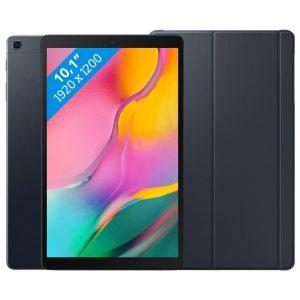 Samsung Galaxy Tab A 10.1 (2019) 32GB Wifi Zwart + Samsung Book Case Zwart