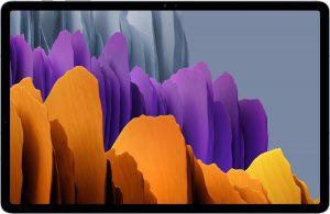 """Samsung Galaxy Tab S7+ SM-T970N 256 GB 31,5 cm (12.4"""") Qualcomm Snapdragon 8 GB Wi-Fi 6 (802.11ax) Android 10 Zilver"""