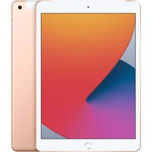 Apple iPad (2020) 10.2 128GB WiFi + 4G Tablet Goud