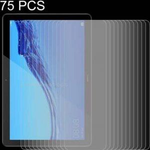 75 STKS 0.26mm 9H Oppervlaktehardheid Explosieveilige Gehard Glasfilm voor Huawei MediaPad T5 10.1
