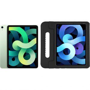 Apple iPad Air (2020) 10.9 inch 256 GB Wifi Groen + Just in Case Kinderhoes Zwart