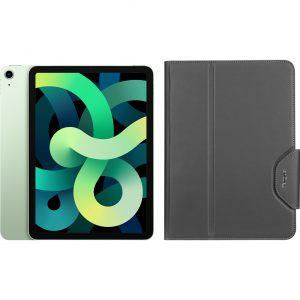 Apple iPad Air (2020) 10.9 inch 256 GB Wifi Groen + Targus VersaVu Book Case