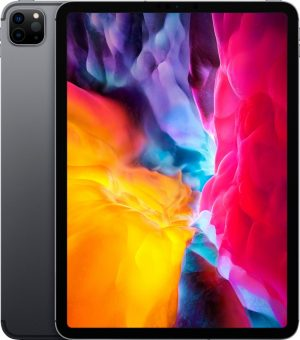 """Apple iPad Pro 11 """"(2020) 4th generation - refurbished by SUPREME MOBILE - A GRADE - 128 GB - Wifi only - Ruimte Grij"""